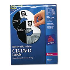 AVE5931 - Avery Laser CD/DVD Labels