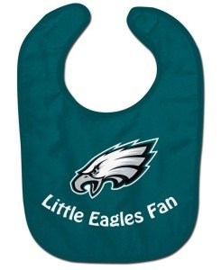 WinCraft NFL Philadelphia Eagles WCRA2049114 All Pro Baby Bib