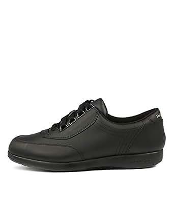 Hush Puppies Classic Walker II Black Womens Sneakers Casuals Shoes