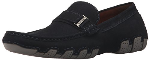 Kenneth Cole REACTION Men's Later Driver B Loafer, Navy, 13 M (Navy Suede Driver Shoes)