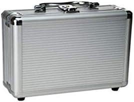 Dong-WW 工具箱 (シルバー、サイズ:45 * 22.5 * 13センチメートルカラー)多機能シルバーグレー、サイズ45.5 * 22.5 * 13センチメートル合金、アルミニウム、家庭、屋外修復ツールの収納ボックスに適し
