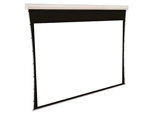 Monoprice Motorized Projection Screen - 106 Inch | ISF, Ultra HD, 4K, 16:9, No Logo
