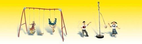 Playground Tetherball Figures Woodland Scenics