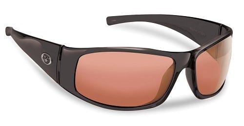 Flying Fisherman Master Angler 7352BV Magnum Black / Vermillion - Sunglasses Vermillion