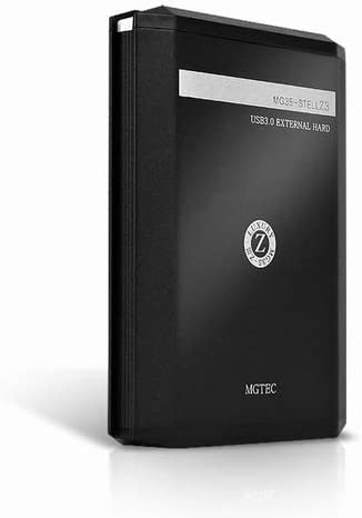 MGTEC MG35 STELL Z3 STSmart外付けハードディスク4 TB安定したスタック可能なUSB 3.0 MGTEC MG35 STELL Z3 STSmart External Hard Disk 4 TB Stable & Stackable USB 3.0
