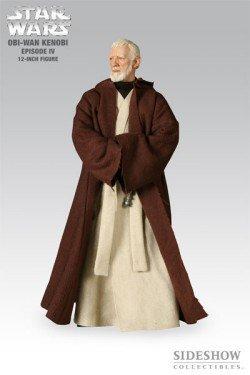 Star Wars Episode IV Obi-Wan Kenobi 12 Inch Figure by Sideshow Collectibles (Obi Wan 12 Inch)