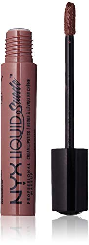 NYX PROFESSIONAL MAKEUP Liquid Suede Cream Lipstick, Brooklyn Thorn, 0.13 Fluid Ounce