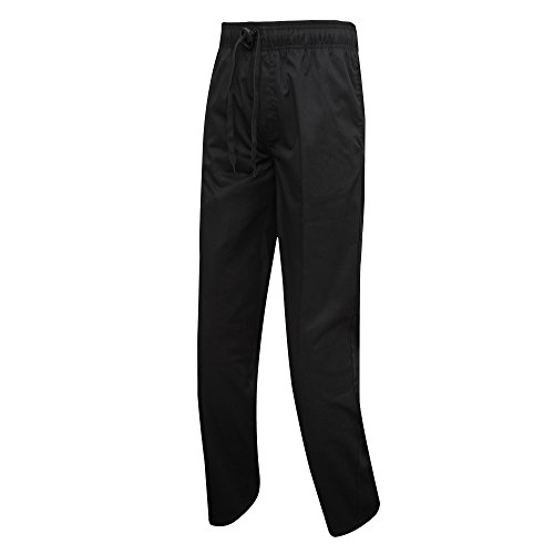 Premier Mens Chefs Select Slim Leg Trousers/Pants (M) (Black) by Premier