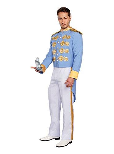 Prince Charming Costume Adults (Charming Prince Adult Costume - Medium)