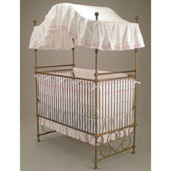 Regal Canopy Crib Bedding with White Ribbon  sc 1 st  Amazon.com & Amazon.com : Regal Canopy Crib Bedding with White Ribbon : Crib ...