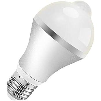 7w Motion Sensor Led Bulb Aukora E26 E27 Led Light Bulb