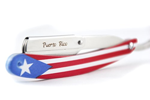 (MD Puerto Rico Flag Swing Lock Razor)