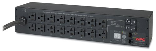 APC AP7802 16-Outlet Metered Rack PDU Power Strip (Discontinued by Manufacturer) - Pdu 16 Power Distribution Unit