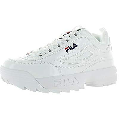 Fila Womens Disruptor ll Premium Patent Sneaker
