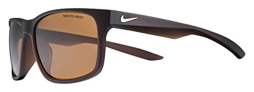 Nike EV0997-200 Essential Chaser P Sunglasses (Brown Polarized Lens), Matte Brown