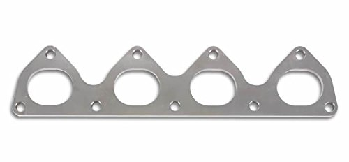 Vibrant T304 SS Exhaust Manifold Flange for Mitsubishi 4G63 motor 3//8in Thick
