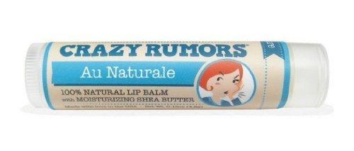 Crazy Rumors, Lip Balm, Au Naturale, 0.15 oz (4.2 g) by Crazy Rumors