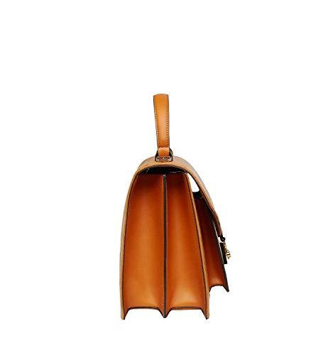 Sac cognac Size MCM bandoulière pour femme One marron andTA