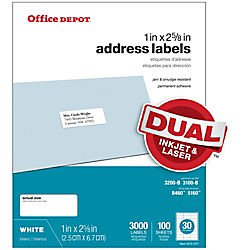 office-depot-white-inkjet-laser-address-labels-1in-x-2-5-8in-box-of-3000-505-o004-0004