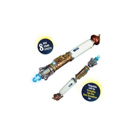 (Doctor Who Trans-temporal Sonic Screwdriver - Customizable With 8 New Dr Who Sound Effects,Multi-colored,Standard)