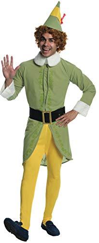 Haloween Costume Store (Elf Movie Buddy The Elf Costume, Green, Standard)