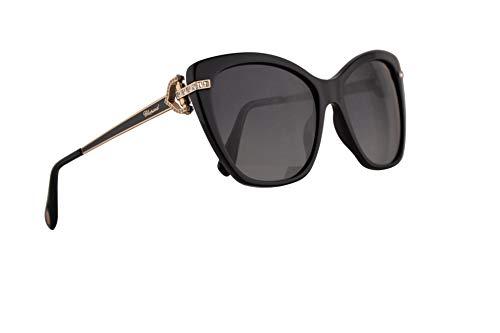 Chopard SCH232S Sunglasses Black w/Polarized Grey Gradient Lens 55mm 700P SCH ()