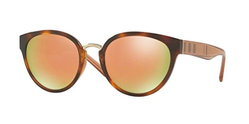 Burberry BE4249 33164Z Light Havana BE4249 Cats Eyes Sunglasses Lens Category - Sunglasses Cat Eye Burberry Women's