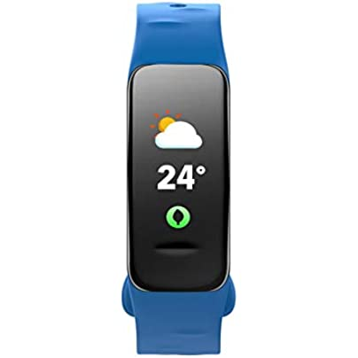ZCPWJS smart wristband C1S Smart Bracelet Color Screen Fitness Tracker Blood Pressure Heart Rate Monitor Sleep Tracker Smart Wristband For Android IOS Blue Estimated Price £46.39 -