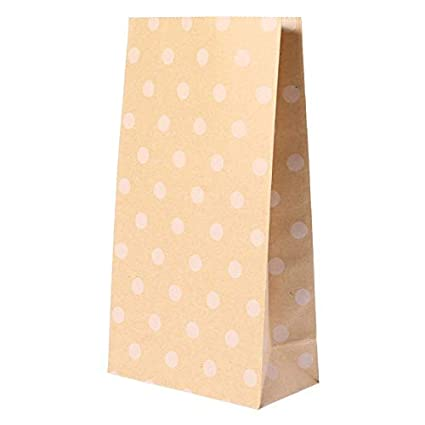 Bags & Wrapping Supplies - Delicate Kraft Paper Candy Food ...