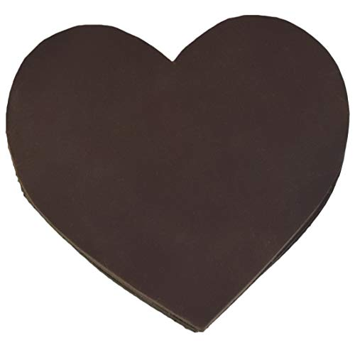 - Hide & Drink, Durable Thick Leather Love/Valentine Warm Heart Coasters (6-Pack) Handmade Includes 101 Year Warranty :: Bourbon Brown