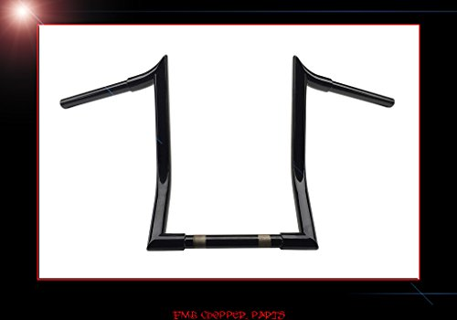 SPIKE BEND MID APE CUSTOM HANDLEBARS FOR VICTORY CROSS COUNTRY & CROSSROADS (Mid Bend Handlebar)