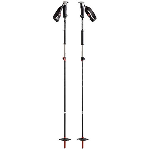 Black Diamond Razor Carbon Ski Poles Torch Red 115-140