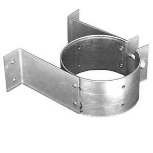 4'' PelletVent Pro Wall Strap - (Pellet Tee Support)