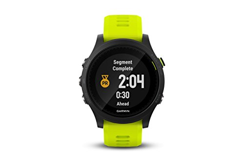 Garmin Forerunner 935 (Tri Bundle) Power Bundle   Includes HRM Tri & Swim Chest Straps, Glass Screen Protector (x2), Extra Silicone Band (Black), PlayBetter USB Car/Wall Adapters   GPS Training Watch