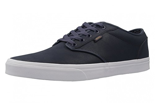 Vans Mn Atwood, Zapatillas para Hombre Blau (Leather)