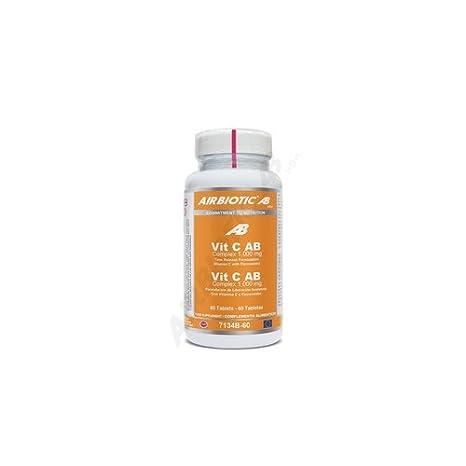 Vitamina C 1000 Mg. Liberación Sostenida 60 Comprimidos de Airbiotic