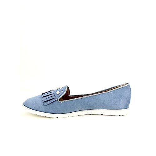 Bleu Chaussures Bleues Femme Cendriyon Caoline Derbies XRwqgx7fC