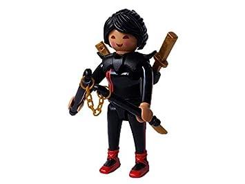 sobre Figura de Playmobil Serie 14 Chica Ninja: Amazon.es ...