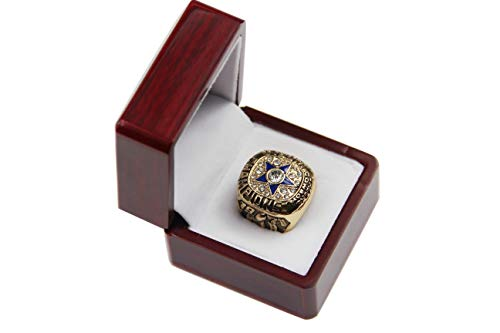 GF-sports store Replica Championship Ring for 1971 Dallas Cowboys Gift Fashion Ring-Gold