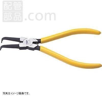 トップ工業:スナップリングプライヤ穴用曲爪 <HB-125F> 型式:HB-125F