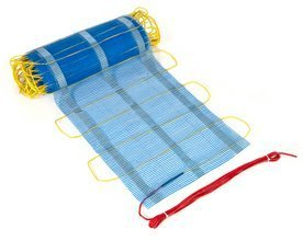 Tepidus Mat WL Electric Radiant InFloor/Under-Floor Heating System for Wood and Laminate- 9 sq ft