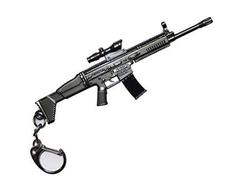 pubg scarl gun keychain