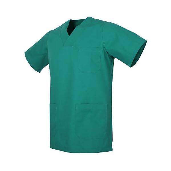 MISEMIYA - Casaca Unisex MÉDICO Enfermera Uniforme Limpieza Laboral ESTÉTICA Dentista Veterinaria Sanitario HOSTELERÍA - Ref.817 2