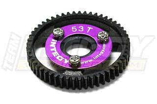 Integy RC Model Hop-ups T3653 53T Steel Spur Gear for T-Maxx3.3 & Jato