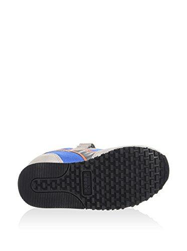 Malone Diadora Jr Leder Blau grau Sneaker blau UqqdwrTp