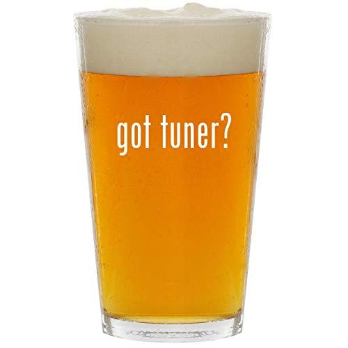 (got tuner? - Glass 16oz Beer Pint)