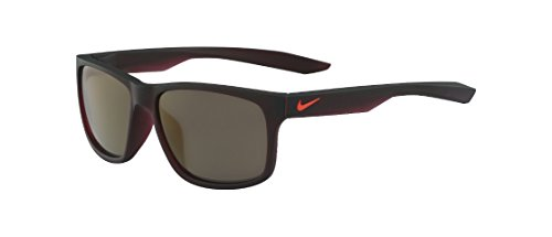 606 Matte - Nike EV0998-606 Essential Chaser R Sunglasses (Frame Grey with Triflection Petrol Lens), Matte Night Maroon