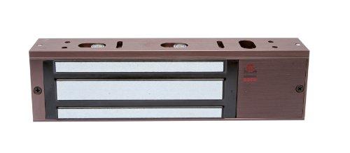 Rofu 8011-LC-US40 Magnetic Door Locking Device for Single Door, Bi-Coloured LED, Brown by Rofu