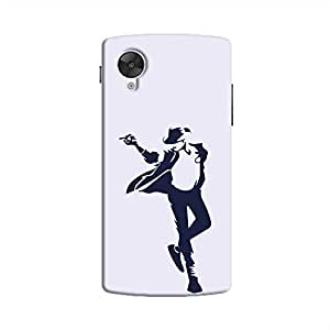 Cover It Up - Moonwalk Print Nexus 5 Hard Case