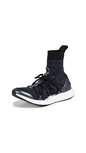 adidas by Stella McCartney Women's Ultraboost X Mid Sneakers, Black/Night Grey/Night Steel, 5 UK